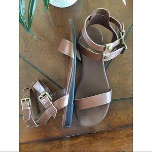 Franco Sarto Brown Sandals Size 7.5